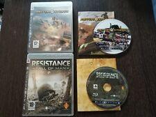 MotorStorm + Resistance Fall of Man - Playstation 3 Ps3 Pal España