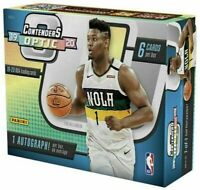 2019-20 Panini Optic Contenders Basketball 4 Hobby Box Random Team Break