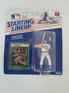 1989 Baseball Card Starting Lineup SLU Figure MLB Milwaukee Brewers Paul Molitor