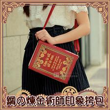 Fullmetal Alchemist Edward Elric Bag Shoulder Bag PU and Mirror