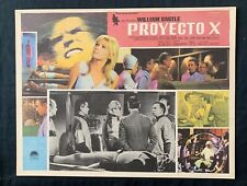 PROJECT X William Castle 1968 MEXICAN LOBBY CARD