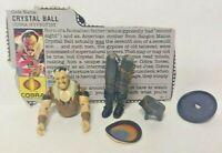 GI JOE CRYSTAL BALL Vintage Action Figure COMPLETE v1 1987 W/ File Card Cobra