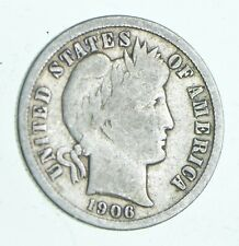 1906-O Barber Dime - Walker Coin Collection *877