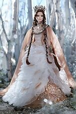 Lady of the White Woods Gold Label Barbie *UK SELLER RARE*