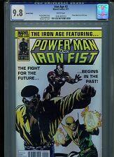 Iron Age #2 CGC 9.8 (2011) Variant Iron Man Power Man & Iron Fist Highest Grade