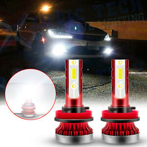 LED H11 H11LL Driving Front Fog Light Bulb Lamp 6000K Bright White Replacement