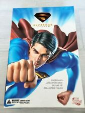 """MIB DC Direct Superman Returns 13"""" Ultra Poseable Deluxe Collector Figure"""