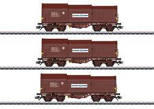 Märklin 46873 Ensemble de Wagons Marchandises avec 3 Télescopique la Sncb #