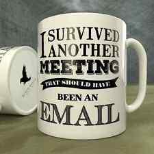 Sobreviví otra reunión que deberían haber sido un correo electrónico-Taza