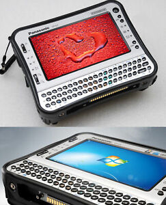 Military Antivandal Shock-Proof Tablet PC Notebook Toughbook Cf U1 32 GB SSD HDD
