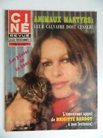 Collezione Rivista Ciné Rivista TV Programmi Brigitte Bardot N° 11 Mars 1982