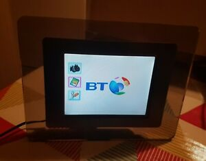 """BT Digital Photo Frame - 4.5"""" x 3.5"""" with Charger Tinted Glass"""