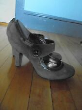 SOFFT Eurosoft 9M TAUPE brown suede leather mary jane HEELS SHOES new no box