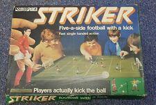 Parker Games STRIKER 1970s football soccer board game complete excellent