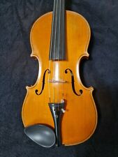 Konzert Meistergeige old Violin Italienisch Inschrift. A Del Lungo anno 1927