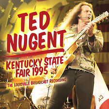 TED NUGENT New Sealed 2019 UNRELEASED LIVE 1995 KENTUCKY CONCERT CD