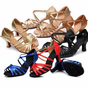 Lateintanschuhe, Salsa, Damen, 5 cm Absatz, Latein Tanzschuhe, Ballroom