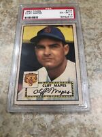 1952 Topps # 103 - CLIFF MAPES - PSA 6.5 Ex-MT+ Detroit Tigers - Nice!