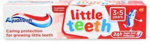 AquaFresh Petit Dents 3-5 Ans Dentifrice 50 ML de Soin Protection