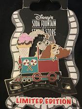 DSF Disney LADY & THE TRAMP Ice Cream Train Engine LE 300 Pin