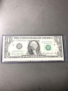 1977  $1 FRN *Star Note-Moderate Cutting Error-L@@K!