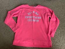 Juniors Pink Sweatshirt XS