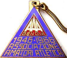 Medaglia Genova 1946 1966 Associazione Amatori Atletica