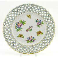 Hungarian Porcelain Herend Victoria Wall Plate