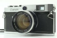 """""""EXC+5"""" Canon P Rangefinder Camera 50mm f1.4 L39 Leica Screw Lens from Japan 307"""