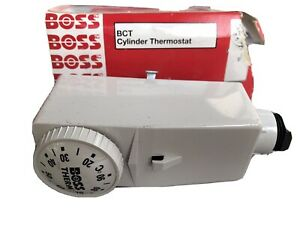 BCT Boss Cylinder Pipe Thermostat With Tank Strap