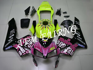 VR 46 Repsol ABS Injection Mold Bodywork Fairing Kit Panels for CBR600RR 03-04