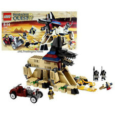 NEW 2011 LEGO Pharaoh's Quest Set #7326 RISE OF THE SPHINX Mummy Figure 527Pcs.