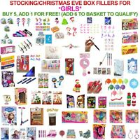 Christmas Eve Box & Stocking Party Bag Fillers Gifts GIRLS ONLY UNICORNS FROZEN