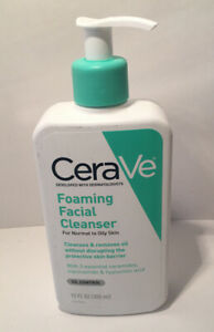 CeraVe Foaming Facial Cleanser-For Normal To Oily Skin-12oz.