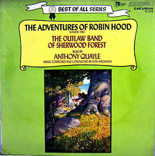 SEALED CHILDREN'S LP THE ADVENTURES OF ROBIN HOOD V. 2 read by ANTHONY QUAYLE