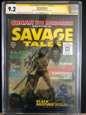 Savage Tales 1  CGC 9.2 SSx2 (Thomas/O'Neil)  1st Man-Thing  --> Weapons Plus #4