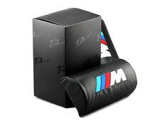 2pcs Carbon Fiber Car Rest Cushion Seat Headrest Neck Pillow for BMW M movement