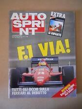 Autosprint n°12 1986  Speciale Formula 1 [G593A]