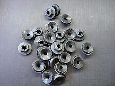 "25 pcs 3/16"" emblem name plate script black thread cutting sealer nuts for Dodge"