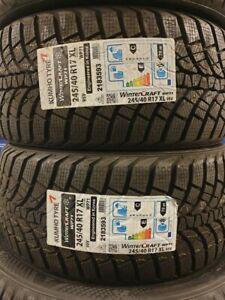 Brand New Car Tyres Kumho Winter/Snow/Ice 245/40/17 245 40 ZR17 XL 95V 245 40 17