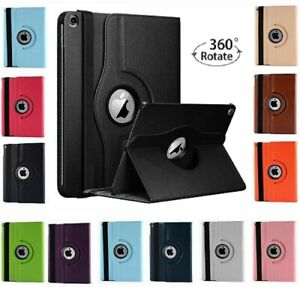 Leather 360 Rotating Smart Case Cover For Apple iPad Air 1st Gen - iPad Pro 10.2