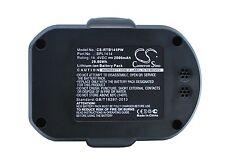 BATTERIA 14.4v Per Ryobi lcd14022 LCDI 14022 LCDI 14022b 130171003 Premium Cella