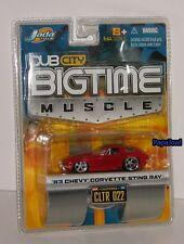 Jada Big Time Muscle 1963 Chevrolet Corvette 63 Chevy Vette CLTR 022 1:64 S