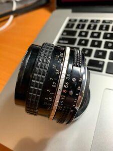Nikon Nikkor 20mm f3.5 AI