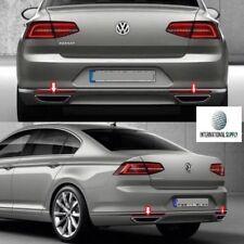 VW Passat B8 2014-2017 Chrom Auspuffrahmen aus rostfreiem Edelstahl 2Stk.