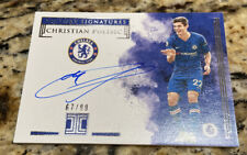 2019-20 Panini Impeccable CHRISTIAN PULISIC Victory Signatures Auto /99 On-Card