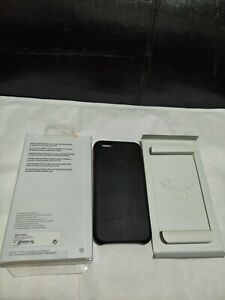 Genuine Apple iPhone 6 Leather Case Black