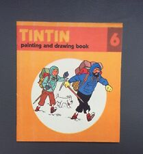 HERGÉ. Album à colorier Tintin N°6.Édition Anglaise Methuen children's book 1979