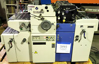 Ryobi 500NX-NP Offset Printing Press T-51 2nd Color Head Numbering XPerf - #3593