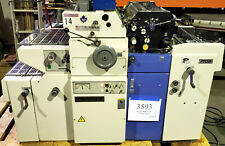Ryobi 500nx Np Offset Printing Press T 51 2nd Color Head Numbering Xperf 3593